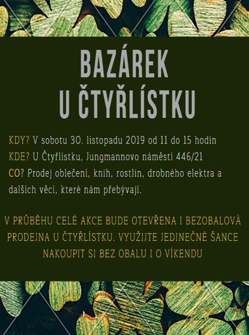 Bazárek U čtyřlísktu